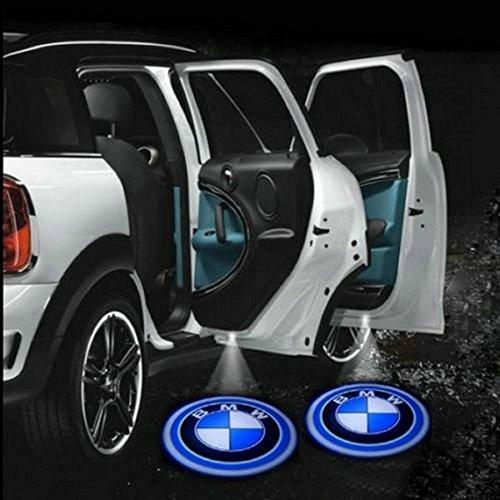 2 X Black 5Th Gen Car Door Shadow Laser Projector Logo Led Light For Bmw 1 3 5 6 7 Series X1 X3 X5 X6 Z3 Z4 Z8 E39 E46 E60 E61 E62 E63 E90 E91 E92 E93 E82 E87 E88 E63 E64