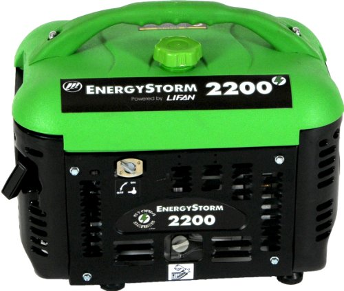 Lifan Energy Storm Es2200Sc 2200 Watt 3 Hp Ohv 4-Stroke Gas Powered Portable Suitcase Generator