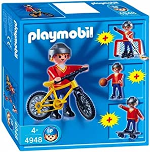 4948 - PLAYMOBIL - Multisport Boy