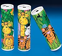 "5"" Zoo Animal Kaleidoscopes, Party Favors (12 PACK) from Bally Hoo"