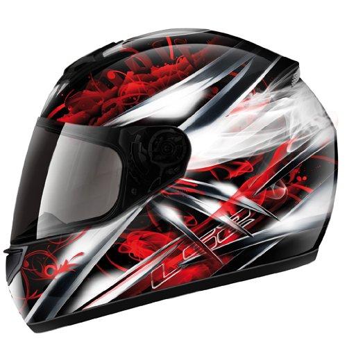 LS2 fF351 wolf casque de moto intégral labels aCU gold
