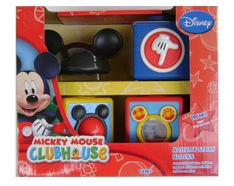Mickey Mouse Club House Activity Story Blocks by Disney - 1