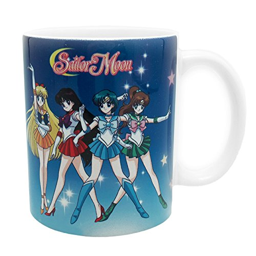 Abystyle - Tazza Mug Sailor Moon - Sailor Guerrières 320Ml - 3700789213239