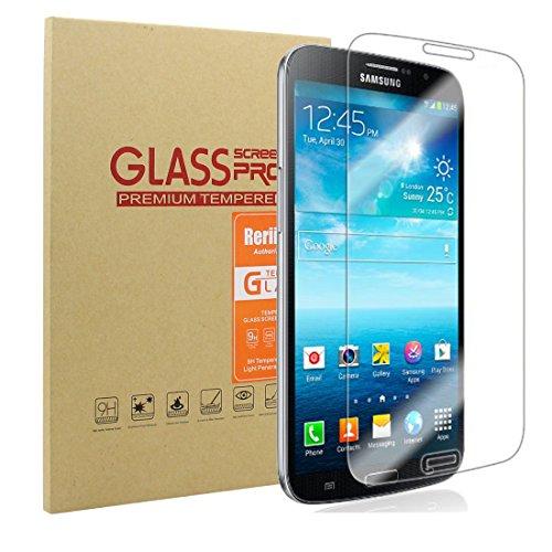 Rerii Samsung Galaxy Mega 6.3 Tempered Glass Screen Protector, Premium Shat [Wireless Phone Accessory]