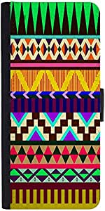 Snoogg Aztec Big Flow Designer Protective Phone Flip Case Cover For Lenovo Vibe X3