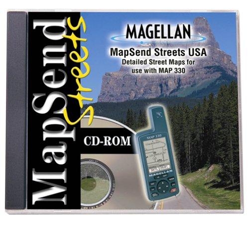 Magellan MapSend Streets CD For Map 330B00006G9SE : image