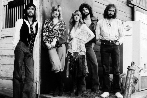 Fleetwood Mac Stevie Nicks Mick Lindsey Buckingham John Mcvie 24x36 Poster fleetwood mac fleetwood mac life becoming a landslide 2 lp