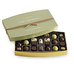 GODIVA Chocolatier 25 pc. Flavors of the World Gift Box