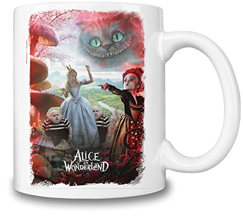 Alice In Wonderland 2 Alice With Friends Tazza Coffee Mug Ceramic Coffee Tea Beverage Kitchen Mugs By Slick Stuff