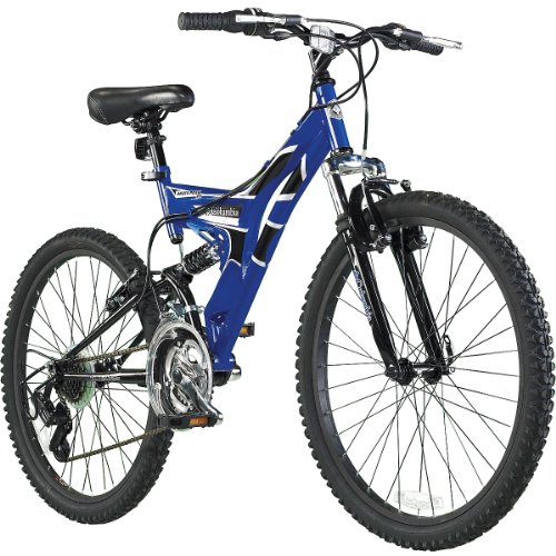 Dual-Suspension Mountain Bike : Childrens Bicycles : Sports & Outdoors