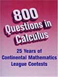 img - for 800 Questions in Calculus book / textbook / text book