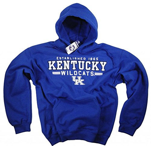 University of Kentucky Apparel-Felpa con cappuccio, Cappello Wildcats Clothing, blu, M