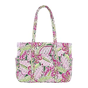 vera bradley baby diaper bag pinwheel pink diaper tote bags baby. Black Bedroom Furniture Sets. Home Design Ideas