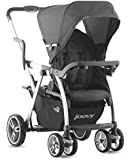Joovy Caboose VaryLight Double Tandem Stroller, Charcoal (Discontinued by Manufacturer)