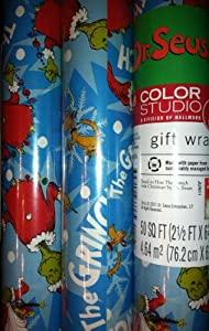 Dr seuss wrapping paper