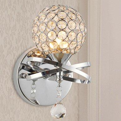 Arts créatifs minimaliste cristal moderne lampe de mur chevet Chambre Salon des vêtements