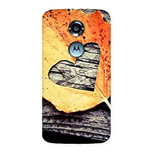 Love Leaf Back Case Cover for Moto X 2nd Gen