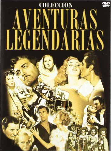 the-legendary-adventures-collection-ivanhoe-1952-scaramouche-1952-the-prisoner-of-zenda-1937-1952-ve