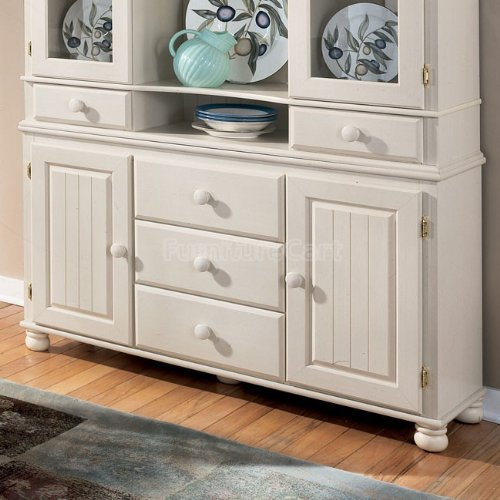 Buy Low Price Cottage Retreat White Dining Room Buffet and  : 51KTiTTJ5mLSL500 from www.kitchenfurniturebargain.com size 500 x 500 jpeg 48kB