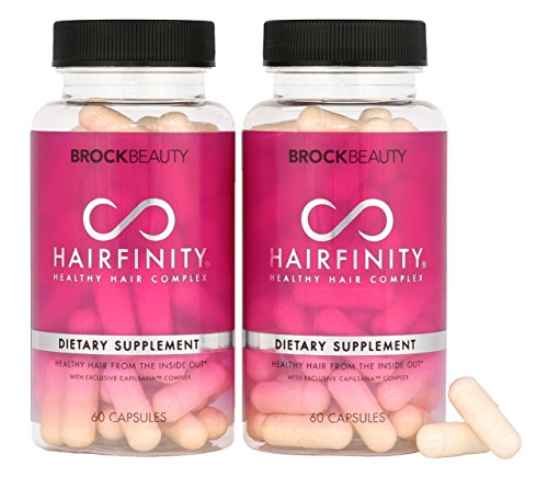 Brock Beauty Hairfinity Healthy Hair Vitamins
