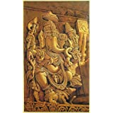 "Dolls Of India ""Ganesha"" Reprint On Paper - Unframed (91.44 X 58.42 Centimeters)"