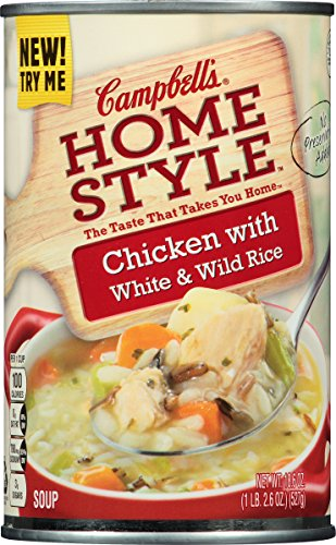 Campbell's Homestyle Soup, Chicken with White & Wild Rice, 18.6 Ounce (Pack of 12) (Chicken Wild Rice Soup compare prices)
