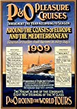 P&O Pleasure Cruises - Europe 1909 - Mini Metal Wall Sign 15 x 20cms