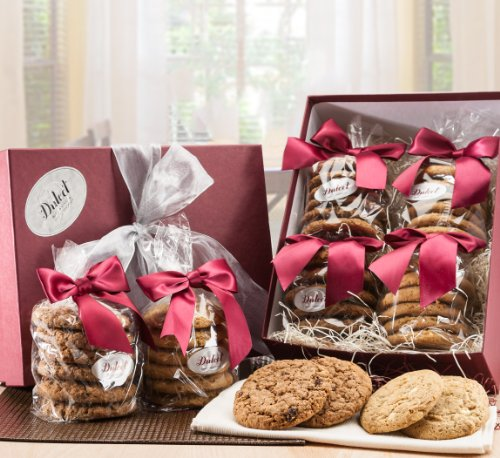 Gourmet Chocolate Chip & Peanut Butter Cookie Gift Baskets