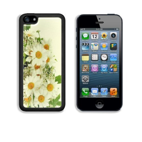 MMZ DIY PHONE CASEBouquet of White Daisies Apple iphone 5/5s Snap Cover Case Customized Made to Order Support Ready Premium Aluminium Deluxe Aluminium 5 inch (125mm) x 2 3/8 inch (62mm) x 3/8 inch (12mm) Liil iphone 5/5s Professional Cases Touch Accessories Graphic Covers Designed Model Folio Sleeve HD Template Designed Wallpaper Photo Jacket Wifi 16gb 32gb 64gb Luxury Protector Wireless Cellphone Cell Phone