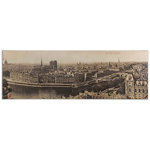 Uttermost 31500 Panorama De Paris Vintage Art