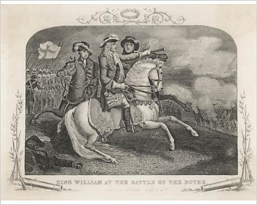 Photographic Print of William III at the Battle of the Boyne, Ireland