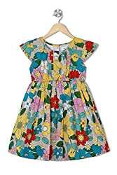 Soulfairy Girls' Dress (SS16-DRSFRL-002_Yellow_6-12 Months)