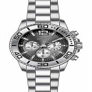 Invicta Men's 17398 Pro Diver Analog Display Japanese Quartz Silver Watch