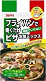 昭和 フライパンで焼くだけピザ生地ミックス 400g×6個