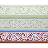 Wallpaper with wavy motifs, by Owen Jones (Print On Demand)