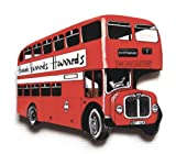 London Bus Deluxe Fridge Magnet - LS11J