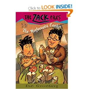 The Misfortune Cookie (Zack Files (Prebound)) Dan Greenburg and Jack E. Davis