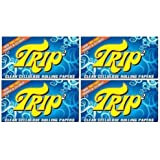 Trip Clear 1.25 Cigarette Rolling Papers, 4 Packs