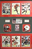 """2003 Super Bowl Champions Tampa Bay Buccaneers Six Autographed 8"""" x 10"""" Photographs with Coach Signatures in a 30"""" x 34"""" Deluxe Frame Shadowbox."""