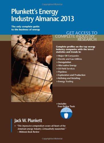 Plunkett'S Energy Industry Almanac 2013: Energy Industry Market Research, Statistics, Trends & Leading Companies front-412123