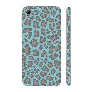 Enthopia Designer Hardshell Case Reflection of a leopard Back Cover for HTC Desire 826