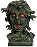 """11"""" Animated Medusa Bust with Light Up Eyes & Moving Snakes by BirthdayExpress"""