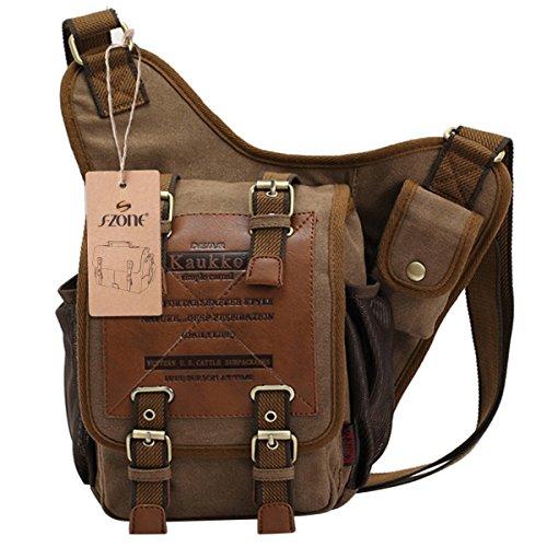 vintage rucks cke herren military canvas rucksack fit to. Black Bedroom Furniture Sets. Home Design Ideas