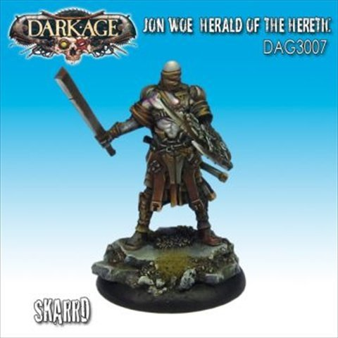 Dark Age Games 3007 Skarrd John Woe, Miniatures And Miniature Games - 1