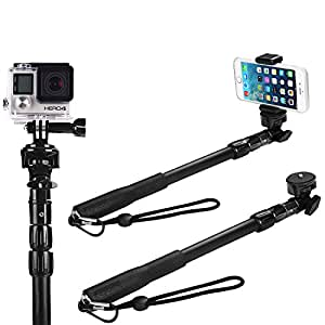 selfie stick the best monopod selfie stick waterproof for iphone 6 for gopro hero. Black Bedroom Furniture Sets. Home Design Ideas