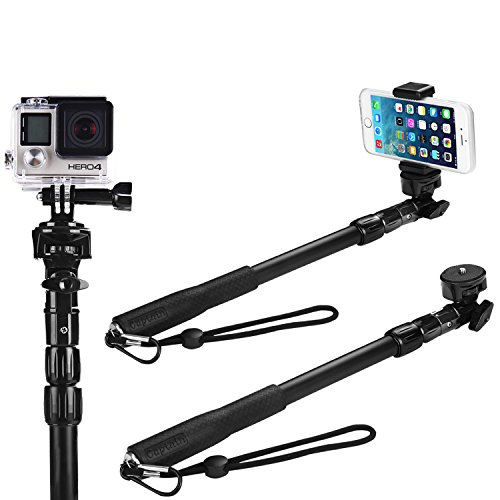 Great Deal! Selfie Stick, GoPro & Camera Monopod, Best & Highest Rated Universal Selfie Stic...