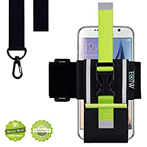 iPhone 6s Armband, EOTW Sport Armband für iPhone 6 / iPhone 6s Plus, Universelles Smartphone Lauf Armband mit Schlüsselband für Samsung Galaxy S6/5/4/3 (4.7 Zoll for iPhone 6/6S)