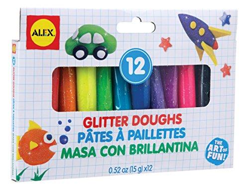 ALEX Toys Artist Studio 12 Glitter Doughs