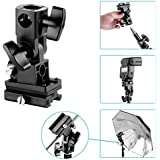 Neewer Type B Tilting Bracket with Universal Hot Shoe for Flashes