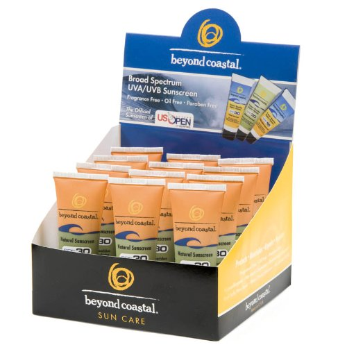 Beyond Coastal 1-Ounce Natural SPF 30 Sunscreen (12 Pieces)